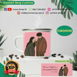 Cangkir mug couple love we are a perfect EM0008