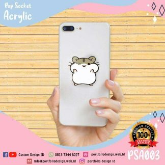Custom desain stand holder cute hamster hamtaro PSA003