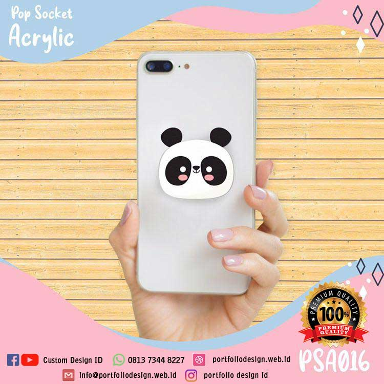 Stand holder hp kartun panda lucu imut cartoon panda PSA016